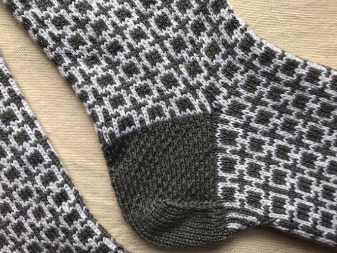 sept socks heel detail